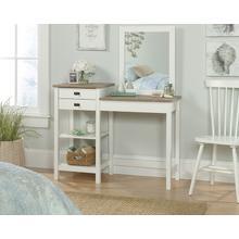 See Details - White Bedroom Vanity with Mirror