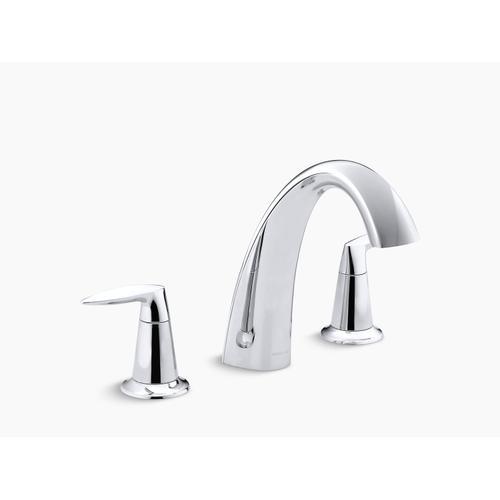 Kohler - Oil-rubbed Bronze Bath Faucet Trim, Valve Not Included