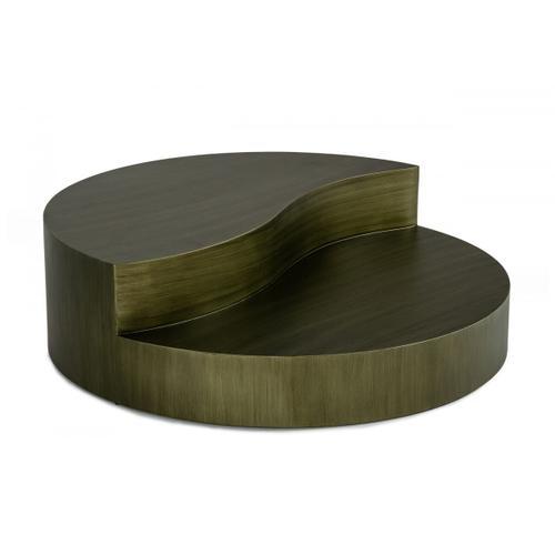 Gallery - Modrest Avocet - Modern Grey Coffee Table