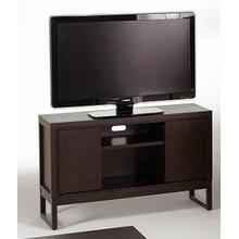 Athena TV Console - Dark Chocolate Finish