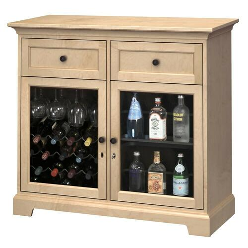 Howard Miller - WS46D Wine & Bar Custom Console