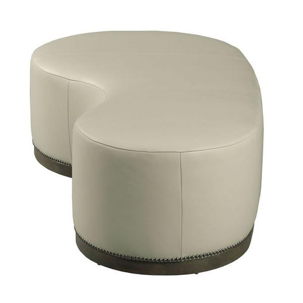 See Details - Madeline Kidney Shaped Cocktail Ottoman
