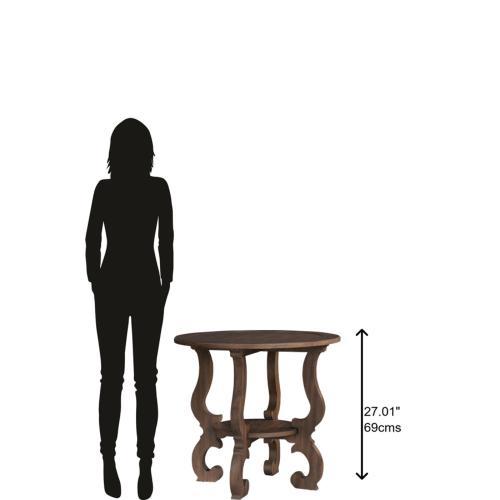 Hekman - 1-6106 Napa Valley Baroque Round Lamp Table