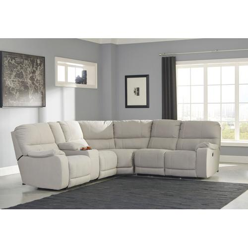 Bohannon 3-piece Reclining Sectional With Power