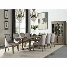 ACME Eleonore Dining Table - 61300 - Weathered Oak