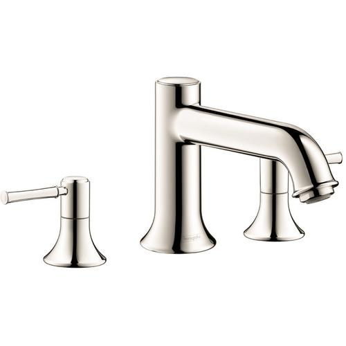 Polished Nickel 3-Hole Roman Tub Set Trim