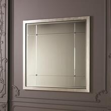 See Details - Beaumont Square Mirror-Silver Leaf