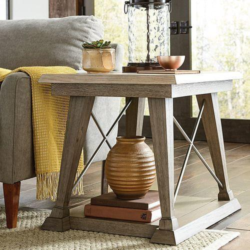 Barton Rectangular Drawer End Table