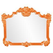 View Product - Avondale Mirror - Glossy Orange