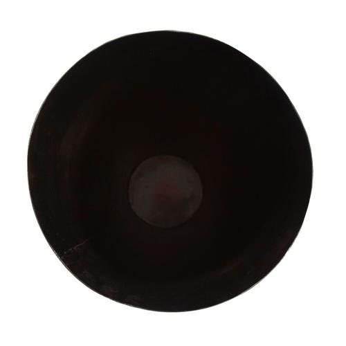 Howard Elliott - Carbon Gray Chiseled Aluminum Tapered Vase