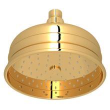 View Product - 6 Inch Bordano Rain Anti-Calcium Showerhead - Italian Brass