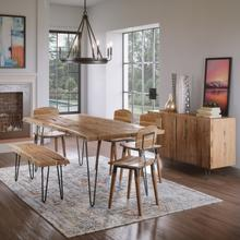 """View Product - Nature's Edge 79"""" Dining Table"""