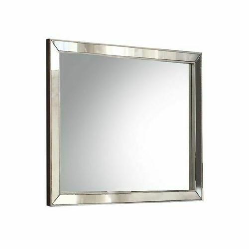 ACME Voeville II Mirror - 24844 - Platinum