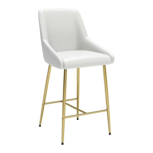 See Details - Madelaine Counter Chair White