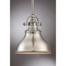 View Product - Emery Mini Pendant in Brushed Nickel