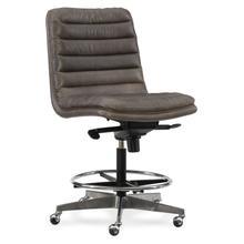 Home Office Wyatt Executive Swivel Tilt Chair (Tall) w/ Metal Base