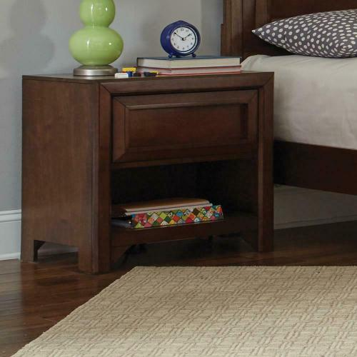 Greenough Transitional Cappuccino Nightstand