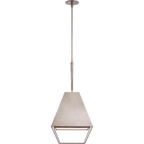 Visual Comfort - Barbara Barry Odeum 2 Light 17 inch Pewter Hanging Lantern Ceiling Light, Medium