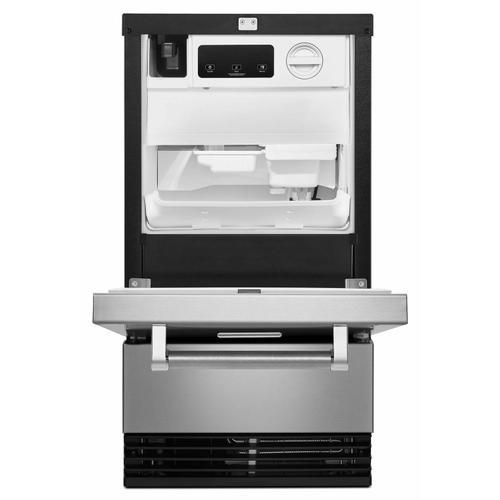 KitchenAid - KitchenAid® 18'' Automatic Ice Maker with PrintShield™ Finish - Stainless Steel with PrintShield™ Finish