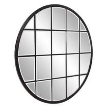 See Details - Superior Round Oil Rubbed Bronze Mirror