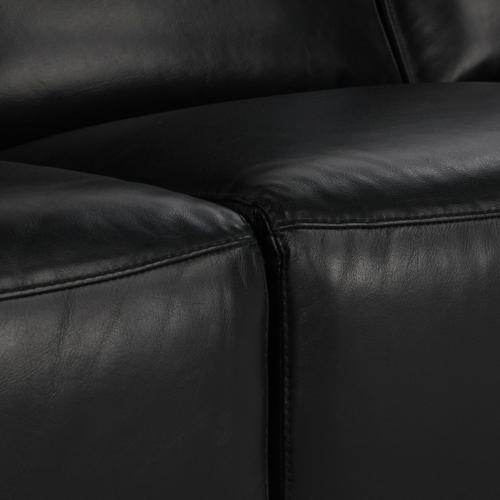 Classic Home - Amsterdam 3 Str Recliner Sofa Black