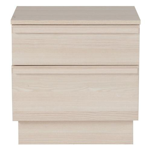2 Drawer Nightstand in Cambria Ash Finish