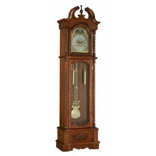 ACME Quincey Grandfather Clock - 97085 - Dark Oak