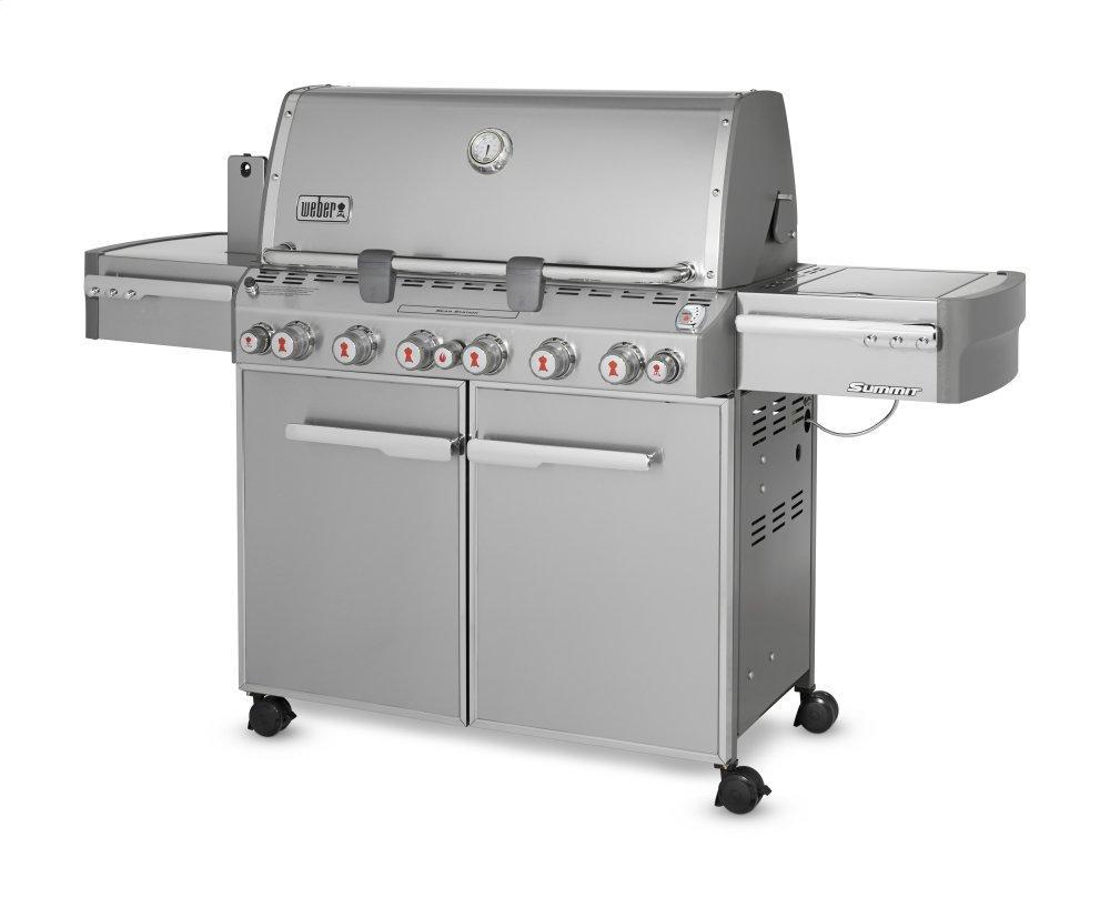 WeberSummit® S-670™ Lp Gas Grill - Stainless Steel