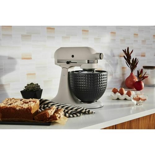KitchenAid Canada - Artisan® Series 5 Quart Limited Edition Stand Mixer with Ceramic Bowl - Light and Shadow