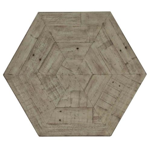 Gresham Hexagonal End Table in Morel