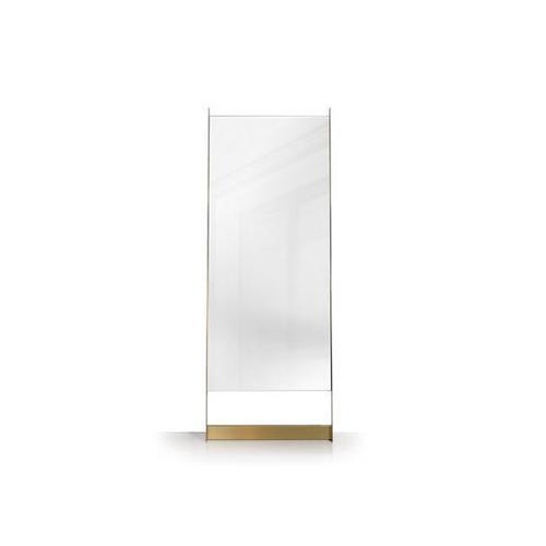 Edge leaning mirror