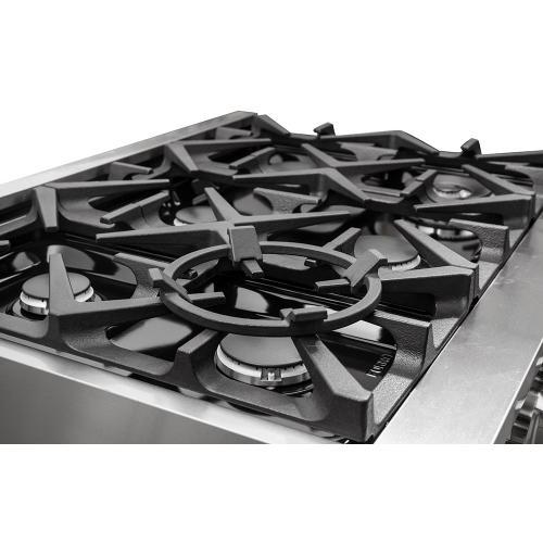 "Forno - Grattino - Platinum Professional 36"" Freestanding Gas Range"