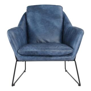 Greer Club Chair Blue