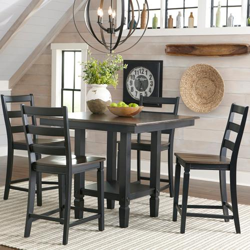 Product Image - Glennwood Counter Table  White & Charcoal