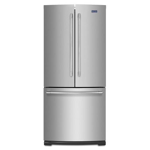 Gallery - 19.6 cu ft French Door Refrigerator with Strongbox Door Bins