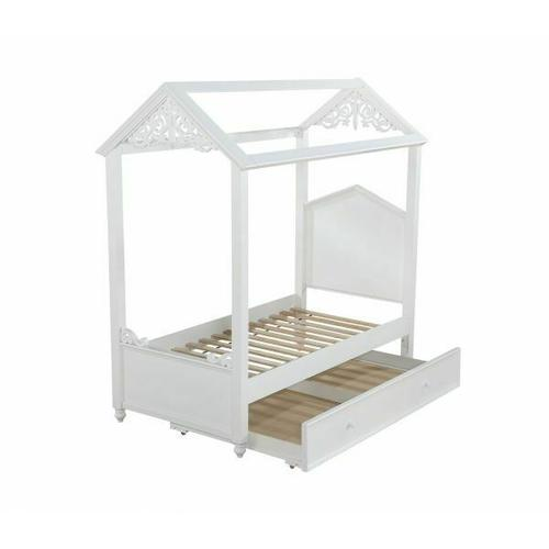 ACME Rapunzel Twin Bed - 37350T - White