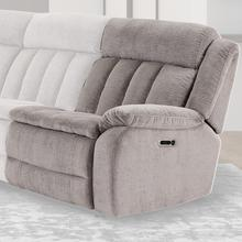 View Product - CUDDLER - LAUREL DOVE Power Right Arm Facing Recliner