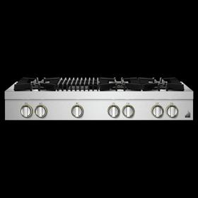 """48"""" RISE™ Gas Professional-Style Rangetop with Gas Grill"""