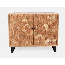 Product Image - Geometrix 2 Door Accent Cabinet-natural