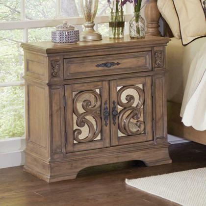See Details - Ilana Traditional One-drawer Nightstand