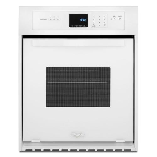 Whirlpool - 3.1 Cu. Ft. Single Wall Oven with High-Heat Self-Cleaning System White