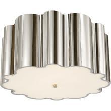 Alexa Hampton Markos 4 Light 26 inch Polished Nickel Flush Mount Ceiling Light