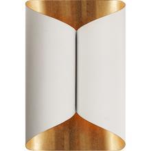 AERIN Selfoss 2 Light 7 inch Plaster White Sconce Wall Light