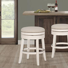 Tillman Wood Counter Height Stool - White