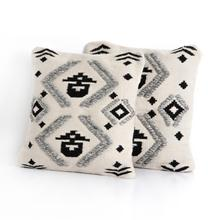 Maria Outdoor Pillow-c, B, Gr-set of 2-20""