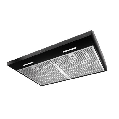 Broan® Sahale 30-Inch Convertible Under-Cabinet Range Hood, ENERGY STAR®, 375 Max Blower CFM, Black