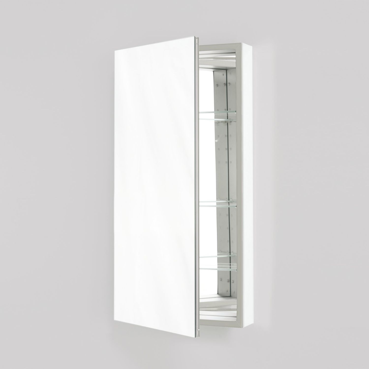 "Additional M Series 15-1/4"" X 30"" X 6"" Flat Top Cabinet With Polished Edge, Left Hinge and Electric"
