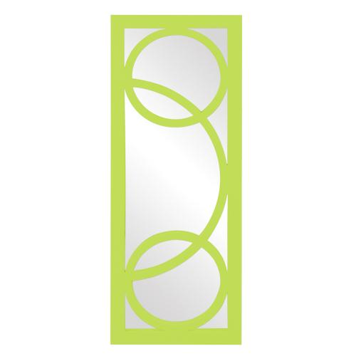 Dynasty Mirror - Glossy Green