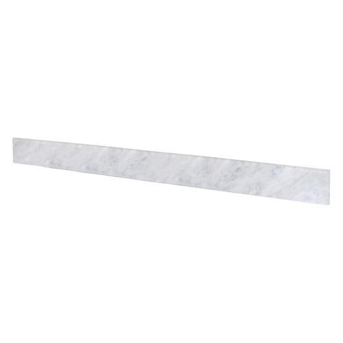 """48"""" Carrara Marble Backsplash"""