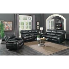 Willemse Dark Brown Reclining Three-piece Living Room Set